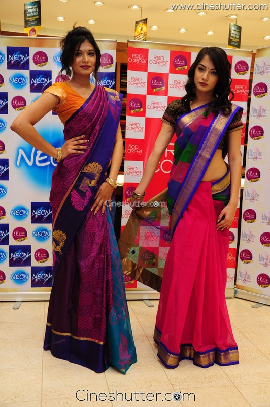 Palam Silks Special Diwali Saree Collections Function Held ...