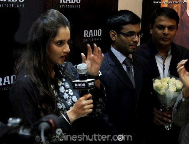 sania mirza at rado watch showroom photos 36 cineshutter