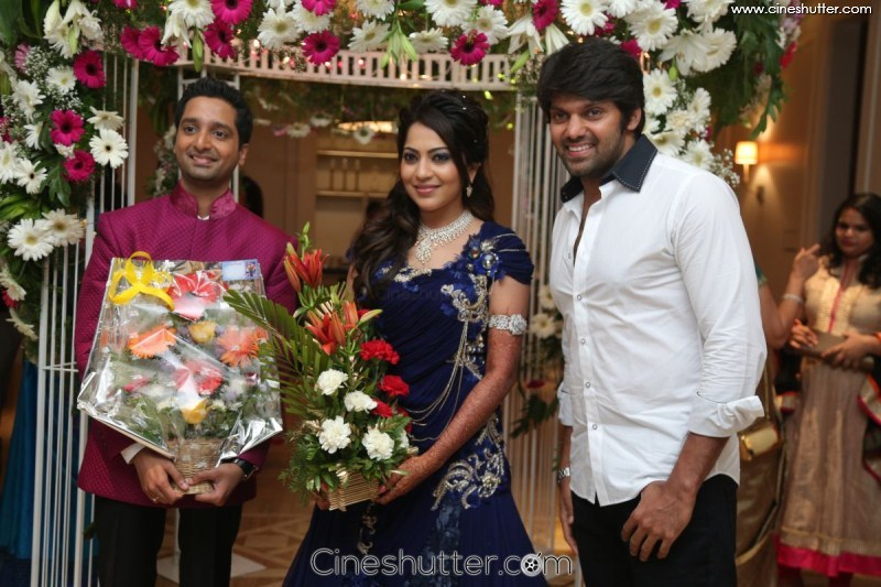 Vj Ramya Aparajith Wedding Reception 73